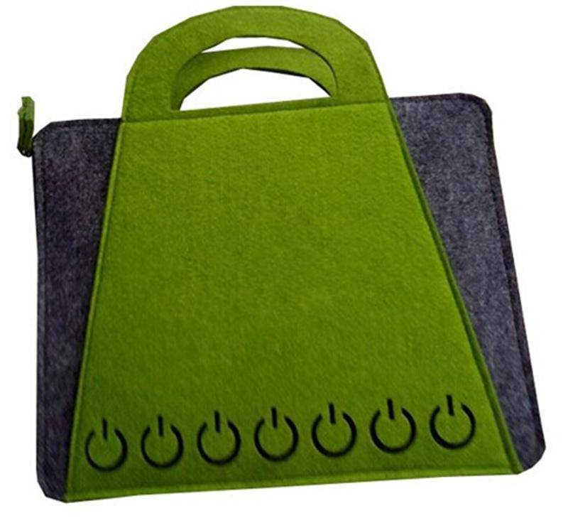 factory direct selling non-woven felt laptop bag case cover