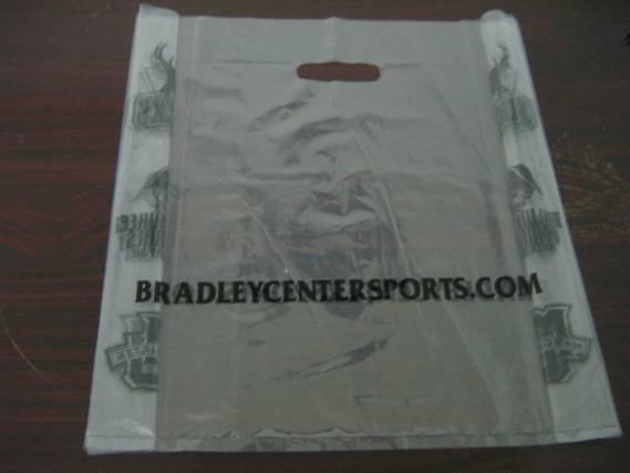 LDPE transparent Printed Plastic shopping Bag