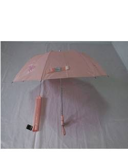 YS-2003Pearl Light Fabric Two Folding Umbrella