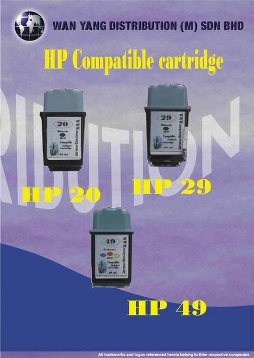 HP Compatible Inkjet Cartridge 20, 29, 49