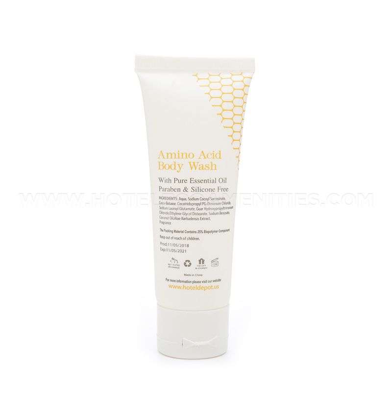BIOCORN Bio-Plastic Material Hotel Shower Gel 30ml/1oz
