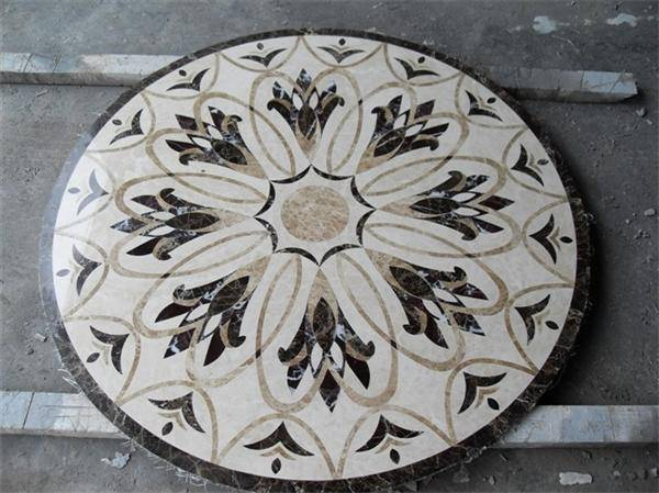 Mosaic Pattern Waterjet Medallion (Direct Factory + Good Price)