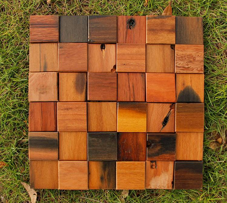 2014 hot sale Pear Mix wood mosaic