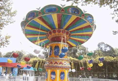 amusement children rides flying chair