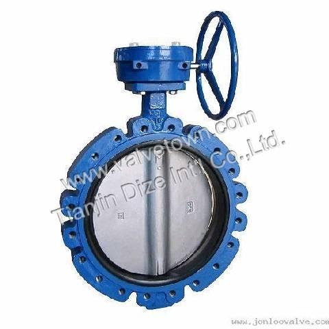 lug-type butterfly valve