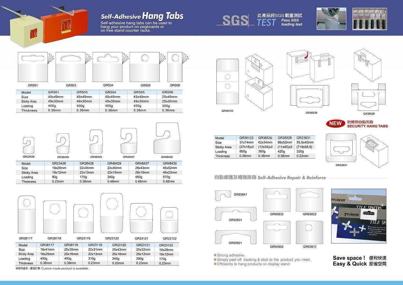 Selling/Supplying Hang Tabs