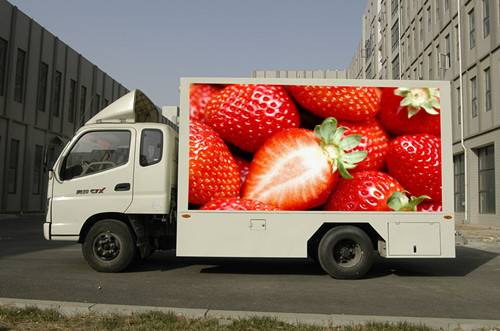 advertising vehicle