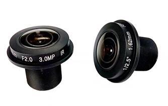 10.Megapixel 1.29mm Fishey lens