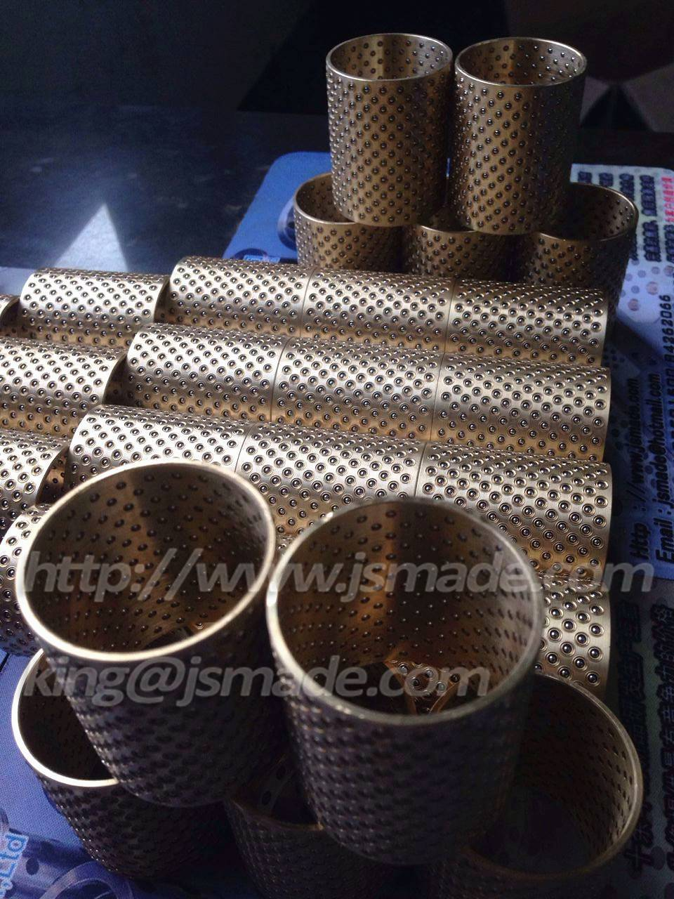 Linear Ball Bearing Retainer Cage