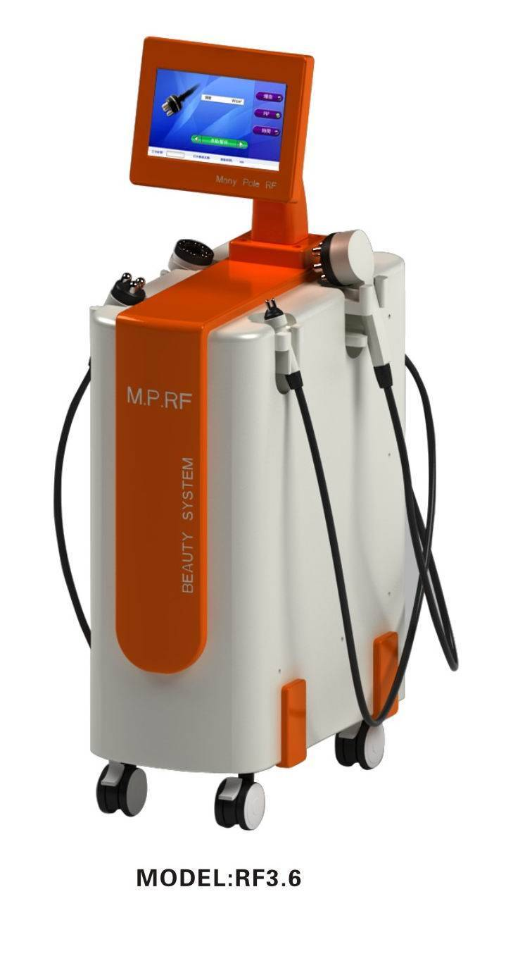 multipolar rf wrinkle removal face lifting slimmingmachine