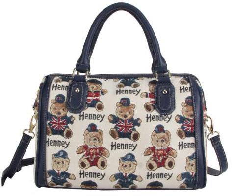 2017 Hot Sale European Design Henney Bear Tote Bag