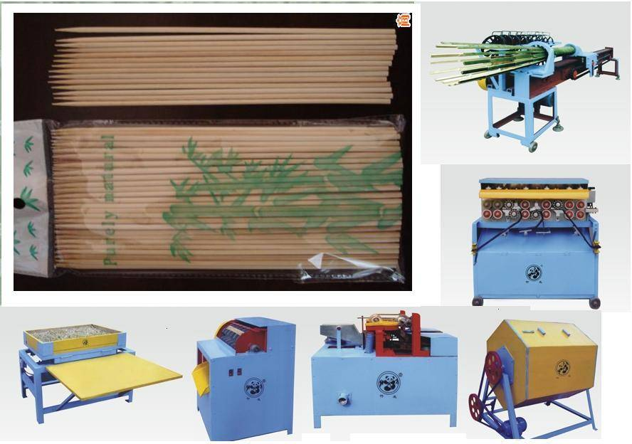 bamboo toothpick machine/ bamboo toothpicks producing line/ bamboo teeth pick machine/ bamboo tooth