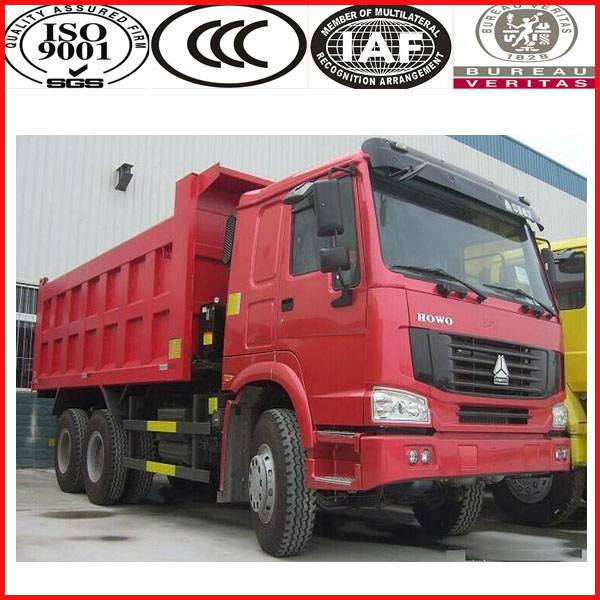 Hot Sale Manual Transmission 251hp-350hp Sinotruk dump truck for sale