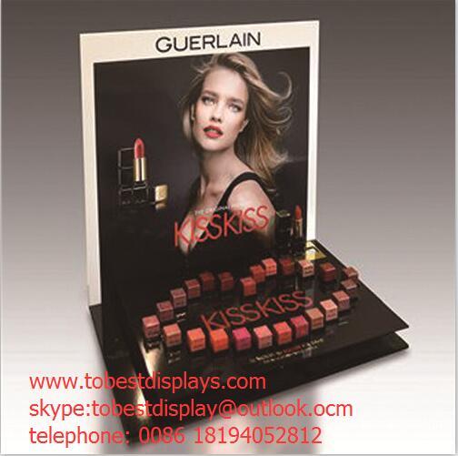 beautiful acrylic cosmetics display for lipstick
