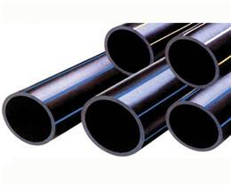 black PE/HDPE pipe for water/irrigation/gas supply