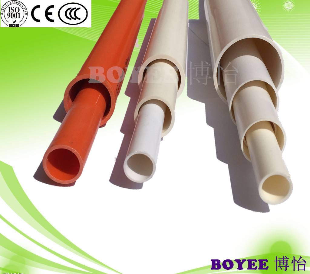 PVC Electrical Pipe/ PVC Conduit / PVC Rigid conduit/ PVC Tube