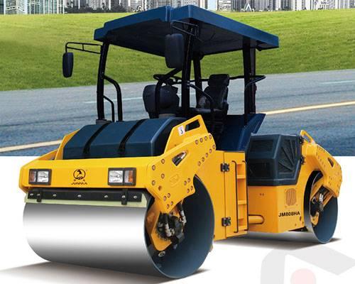 JM808HA/JMD808HA Full Hydraulic Double Drum Vibratory Roller Vibratory Oscillatory Roller