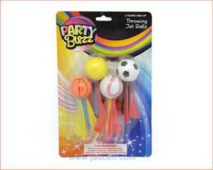 Foam Sport Ball Missiles Throwing Jet Sport Ball