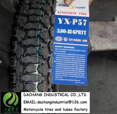 King Stone Motorcycle tire 300-17 for Kenya