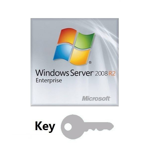 Microsoft Windows Server 2008 R2 Enterprise 1-8cpu 25Clt Key