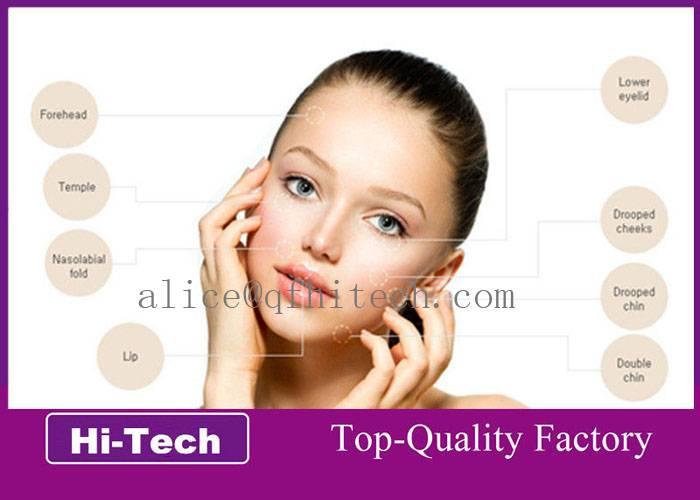Skin Rejuvenation High Purity BDDE Hyaluronic Acid Dermal Filler injection Gel CE certificate
