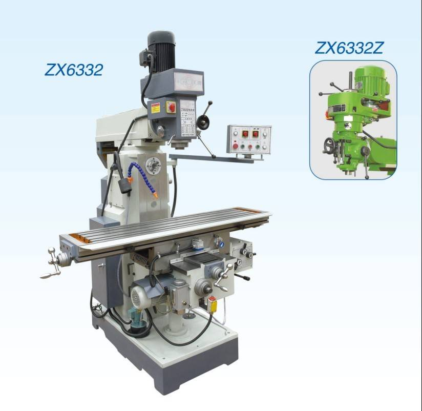 Drilling and milling machine ZX6332A