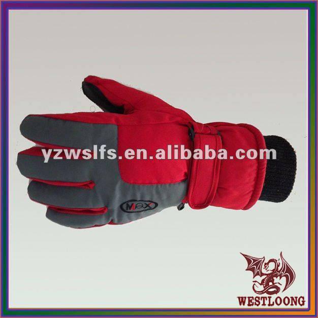 2012 Ski Gloves Waterproof Winterproof Men Stylish Gloves