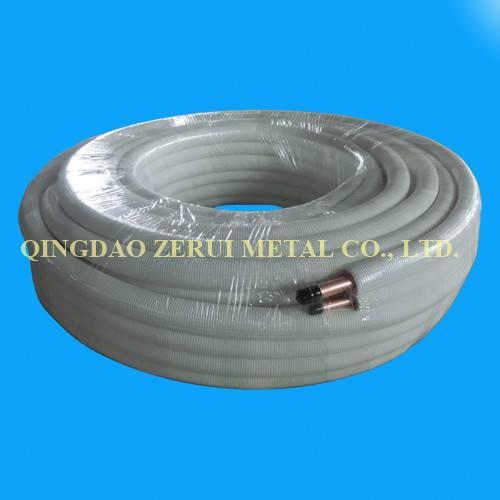 Ce Certified R410A Grade Insulated Copper Pipe
