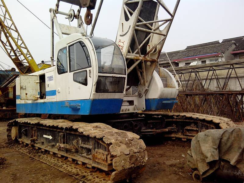 Used Hydraulic Crawler Crane 55T