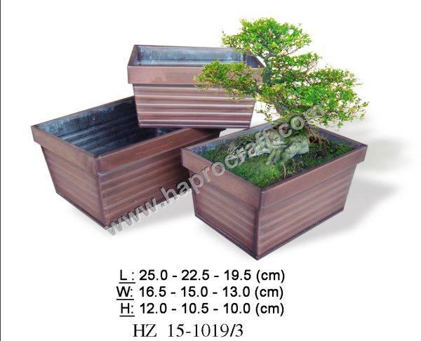 Zinc pots/Flower pots/Vietnam zinc pots
