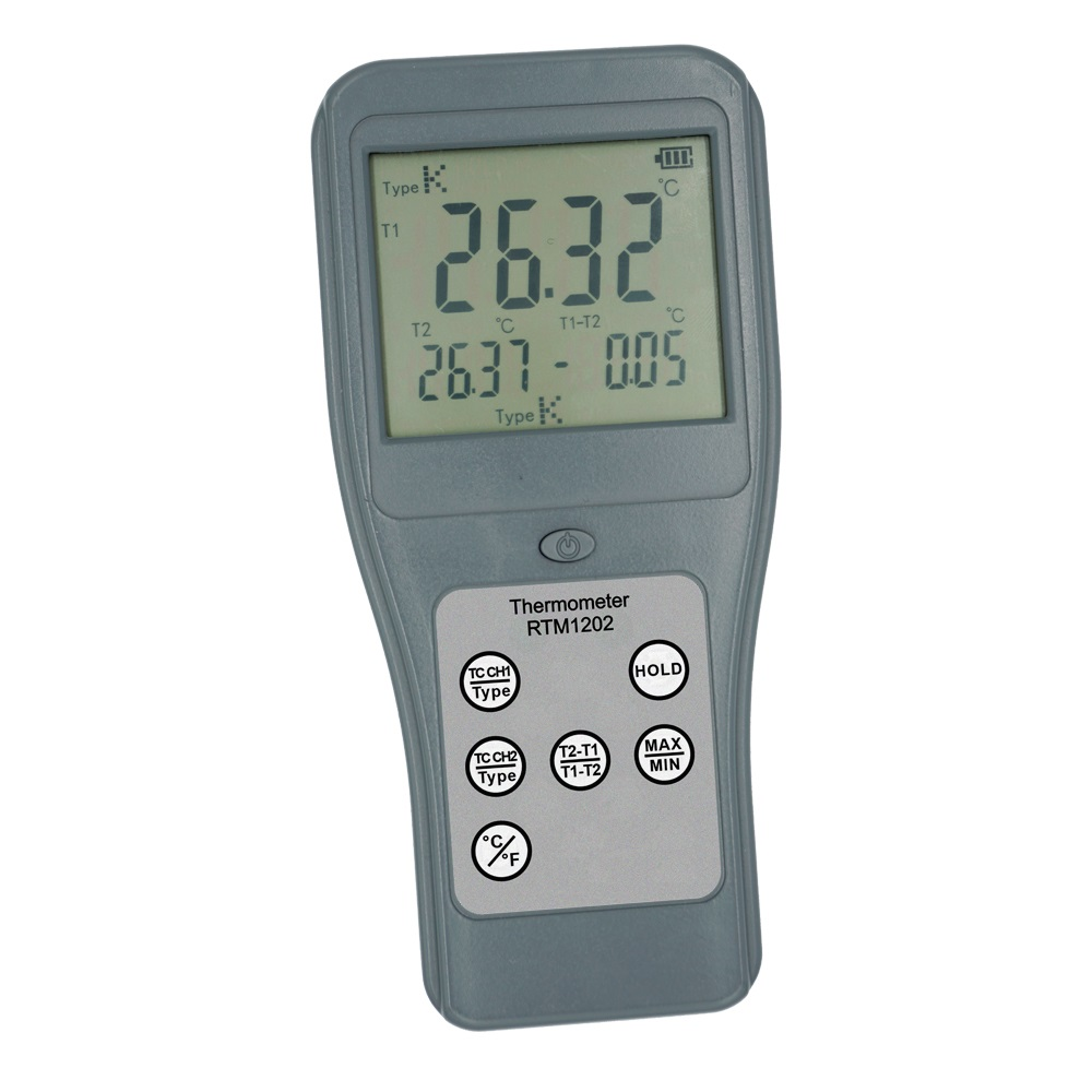 RTM1202 Thermocouple Thermometer with Infrared temperature measuring