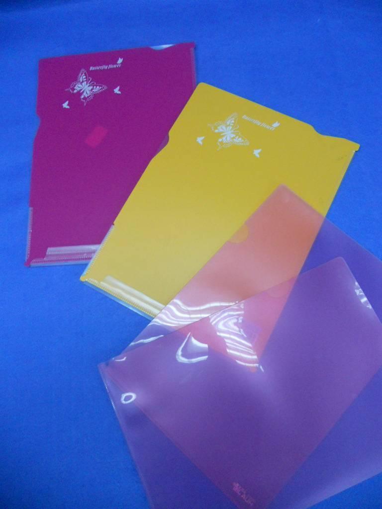 PP file bag / Transparent PP file bag / Colorful file bag