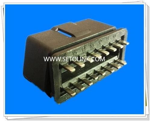 Good Price Universal OBDII 16 Pin Male Connector ST SOM002C