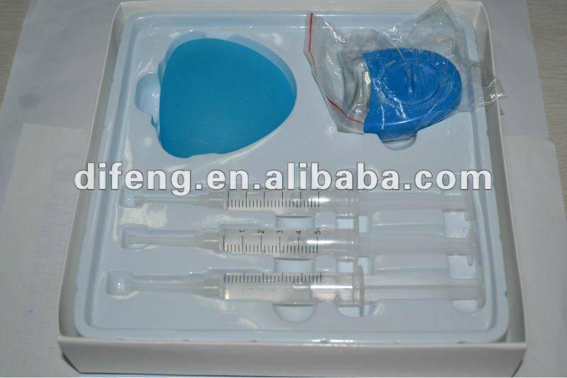 HOT Protable LED light teeth whitening kit