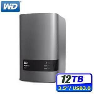 Western Digital WD 8TB/12TB My Book Duo Desktop Storage External Hard Drive Disk HDD