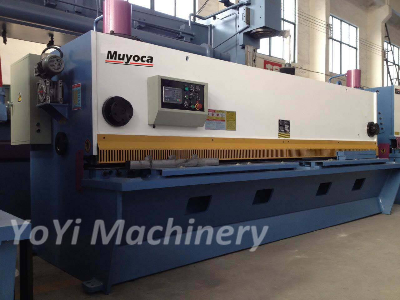 QC11K-6x4000 cnc hydraulic shearing machine