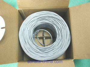 Sell UTP/FTP/STP Cat5e Ethernet cable