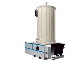 Vertical organic heat carrier boiler
