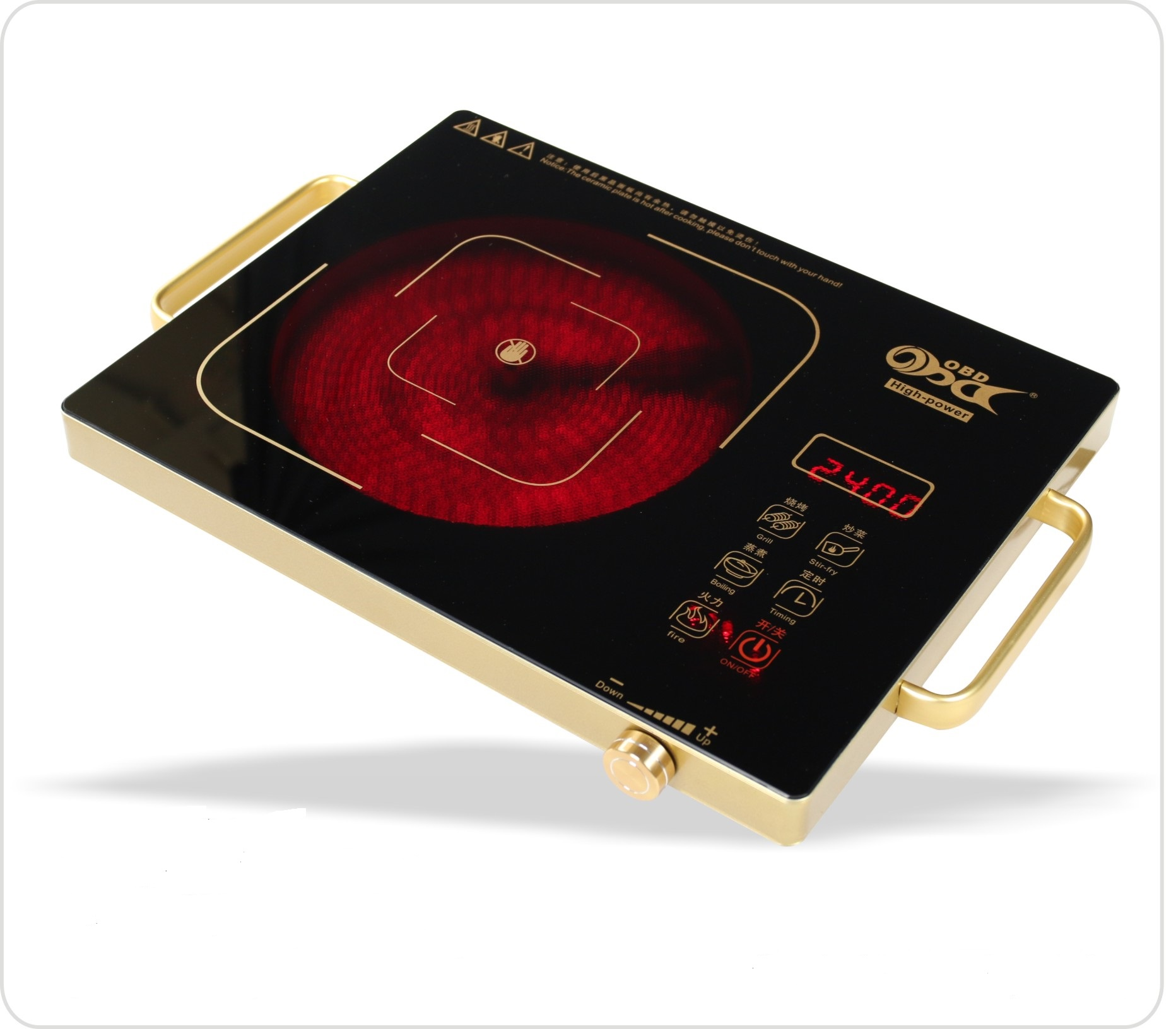 OBD Induction & Infrared Ceramic Cooker Hot Plates