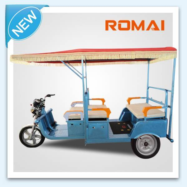 hot sale for e-rickshaw,e-tricycle for passenger,electric 3wheel tricycle