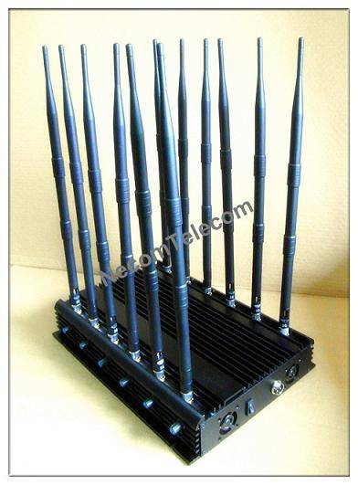 CPJB12 12 antennas cellular-wifi-gps-lojack-433-315mhz all in one jammer