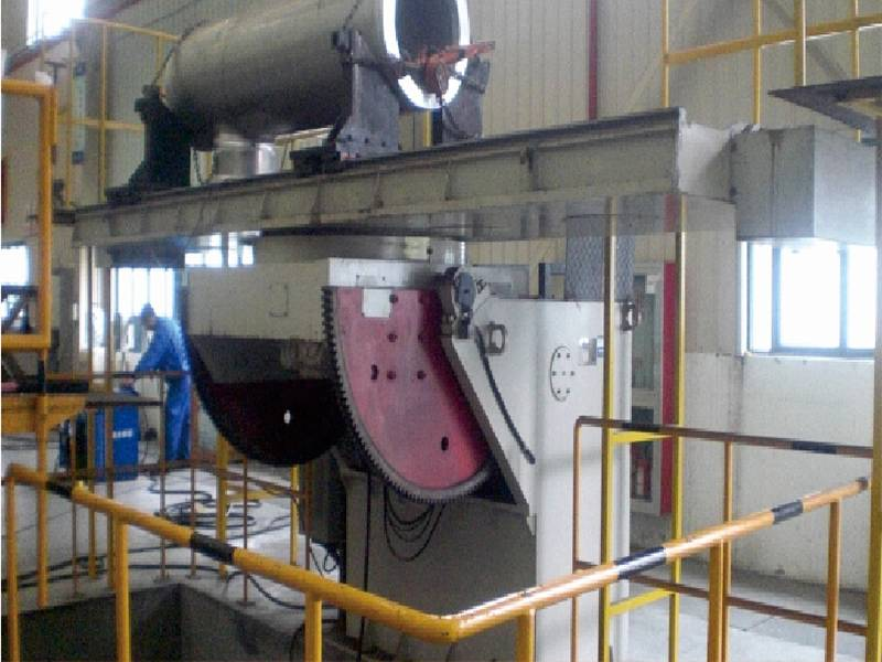 1000kg Automatic Welding Positioner for Heavy Industry