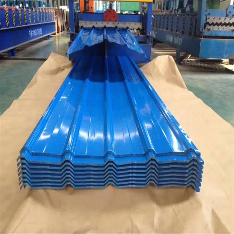 China Prime Quality T Profiled Prepainted Steel Roofing Sheets