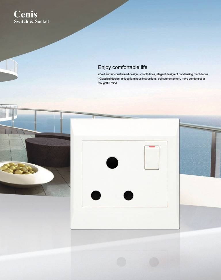 High Quality Wall Switch Lavie Series