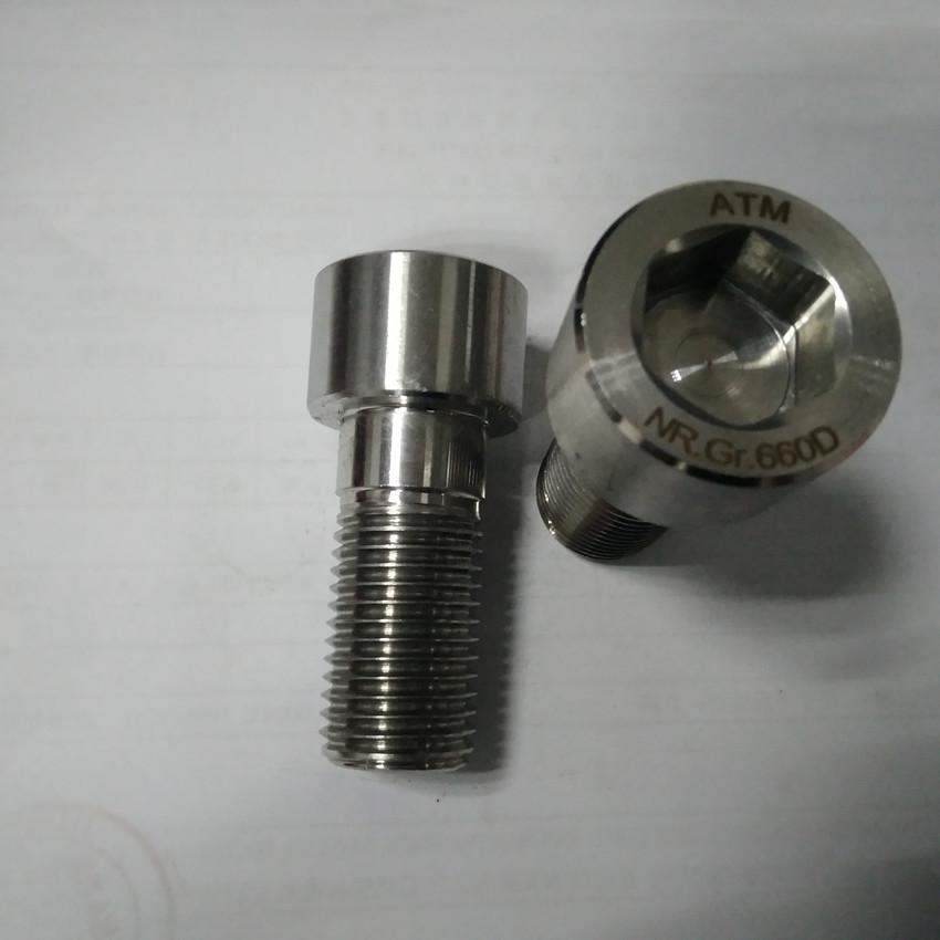 ASTM A453 Gr660 Hexagon Bolts