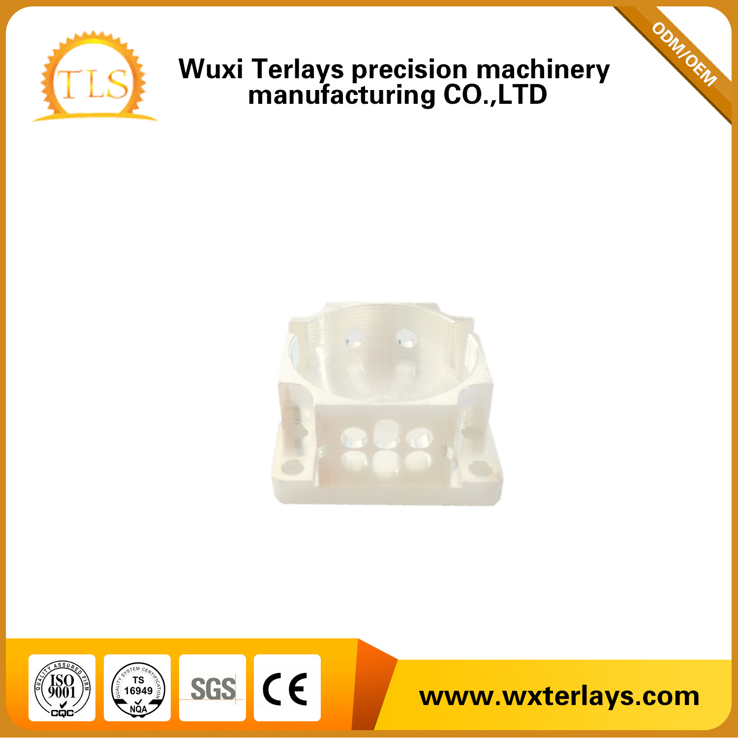 High Quality Supplier of CNC Precision Parts For Auto/Turck/Motorcycly/Bicycle Parts