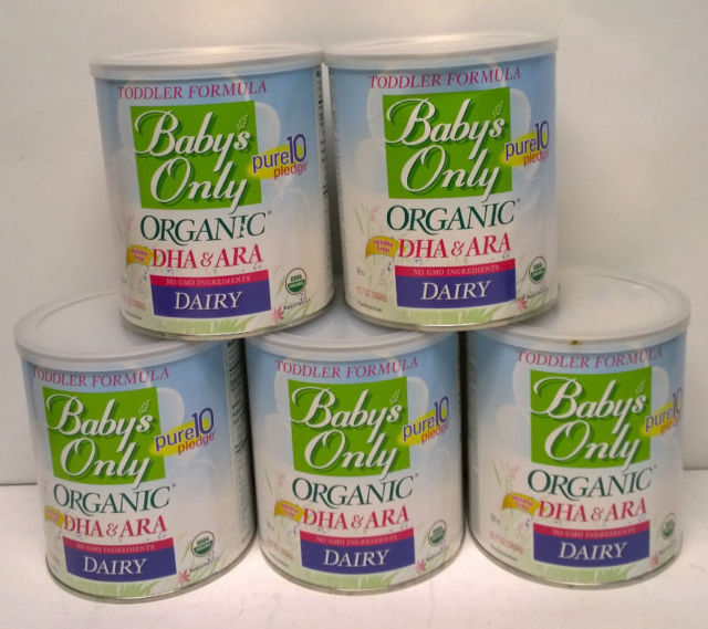 Baby's Only Organic Dairy with DHA & ARA Formula