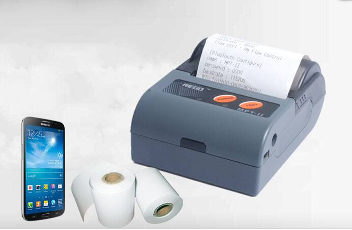 58MM mini protable thermal mobile printer usb port support Windows, WINCE, Symbian, Android