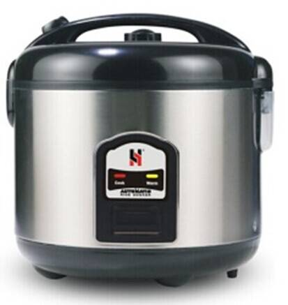 Deluxe rice cooker in all Stainless steel