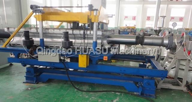 SBG250 UPVC Double Wall Corrugated Pipe Extrusion Line